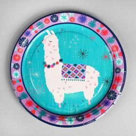 Тарелка бумажная «Альпака», набор 10 шт.