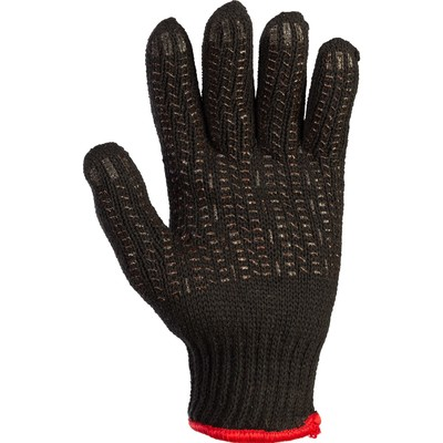 Gloves wool blend combined with a double PVC