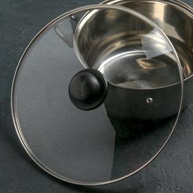 {{photo.Alt || photo.Description || 'Крышка для сковороды и кастрюли стеклянная, d=32 см, с пластиковой ручкой'}}