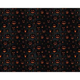 Фотобаннер, 300 × 200 см, с фотопечатью, люверсы шаг 1 м, «Весёлые тыквы»
