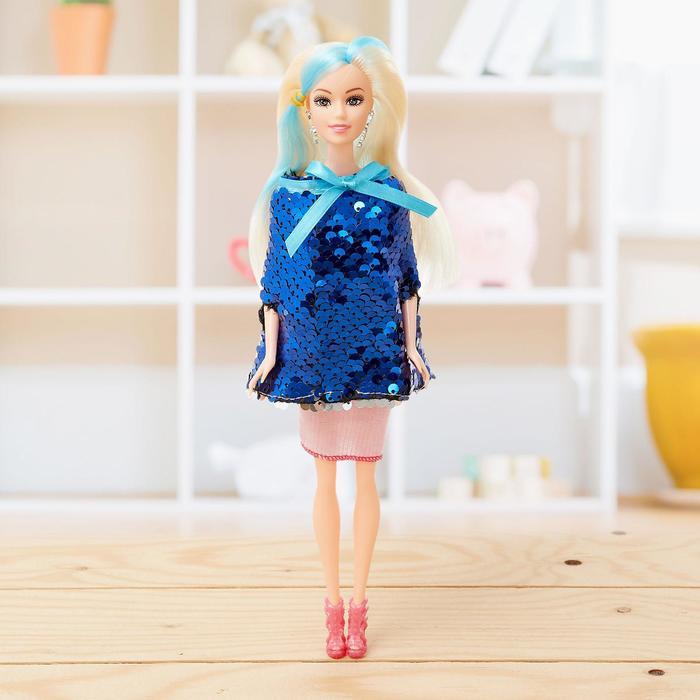 Кукла модель «Сара» в платье, МИКС