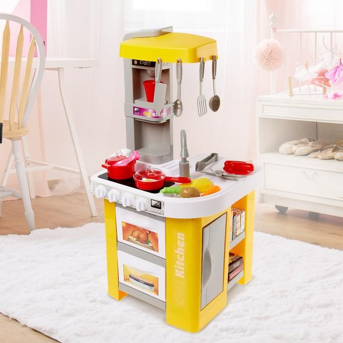 Игровой модуль кухня «Талантливый шеф», со световыми и звуковыми эффектами - фото 105580025