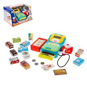 Игровой набор «Играем в магазин», с кассой и аксессуарами