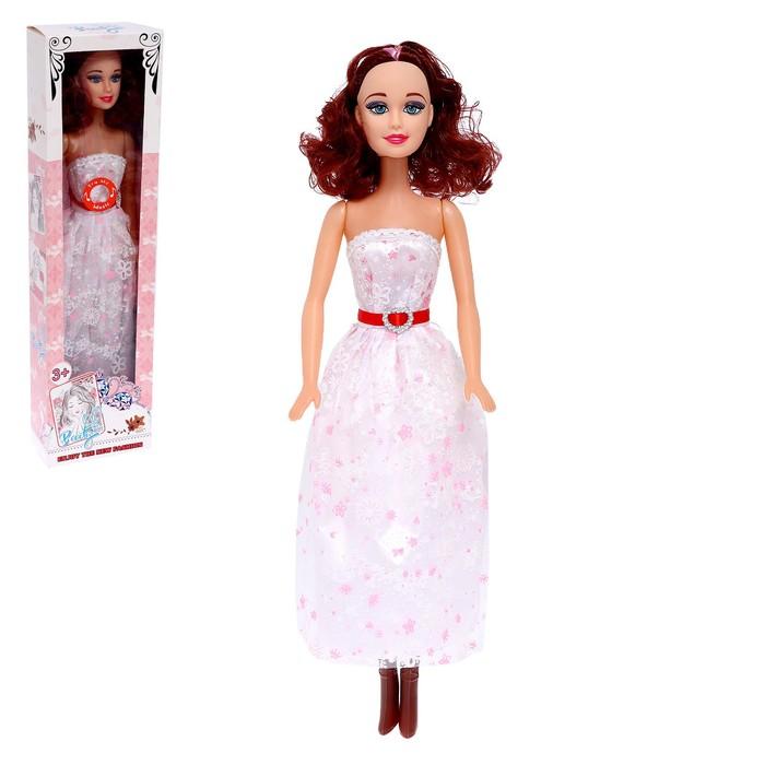 Кукла «Таня» со звуком, в платье, цвета МИКС