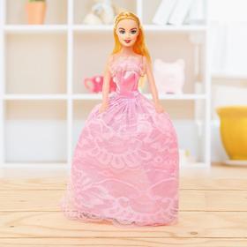Кукла-модель «Лиза» в платье, цвета МИКС в Донецке