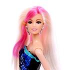 Кукла модель «Ульяна» в платье, МИКС