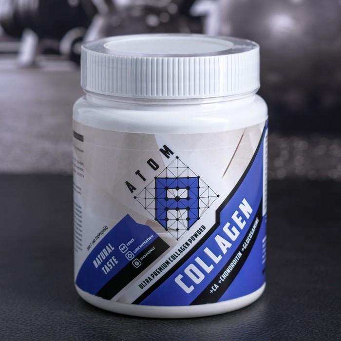 АТОМ, Collagen Ca+CHONDROITIN+GLUCOZAMINE банка 200 г/ Нейтральный