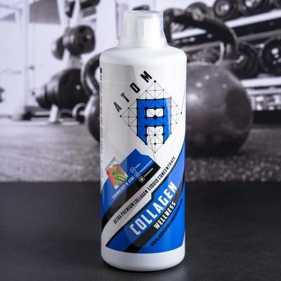 ATOM, Liguid Collagen Wellness,bottle of 1000 ml /Strawberry-kiwi