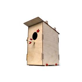 Деревянный конструктор «Скворечник»