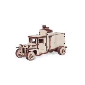 Деревянный конструктор «Грузовичок ЛТ компрессор»