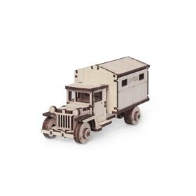 Деревянный конструктор «Грузовичок ЛТ почта»
