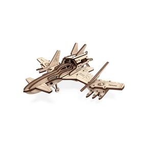 Деревянный конструктор «Самолёт Стакс - 2Н»
