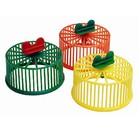 Wheel plastic for rodents, without stand, 9 cm, mix colors