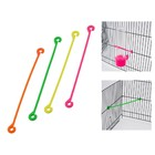 Holder for fruit in the cage for the birds, 3 PCs, mix colors