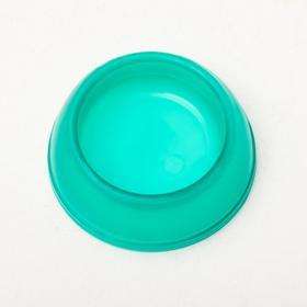 Миска для грызунов пластиковая, прозрачная, 15 мл, микс цветов