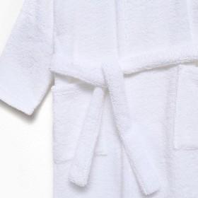 Халат махровый детский Экономь и Я р. 30, цв.белый, 100%хл с AIRO, 320 г/м2 - фото 7565085