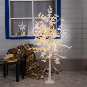 """Дерево светодиодное """"Клен белый"""",  1,6 м, 160 LED, 220 В, Т/БЕЛЫЙ"""