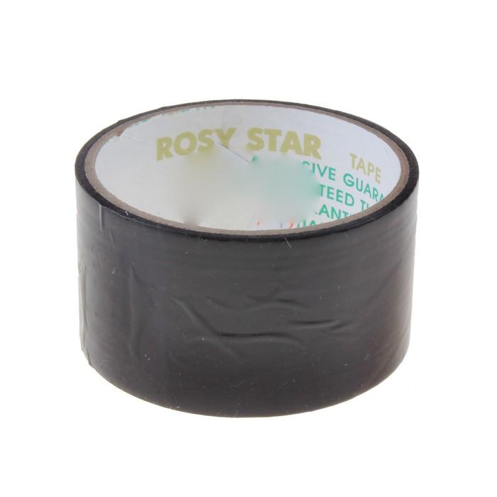 Клейкая лента Rosy Star черная, 48мм х 36м - фото 9191