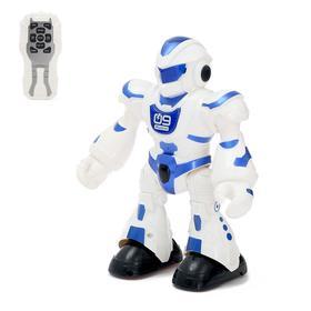 Робот радиоупарвляемый «Танцор», световые и звуковые эффекты, работает от батареек