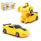 Робот «Автобот», трансформируется, световые и звуковые эффекты, работает от батареек, цвета МИКС - фото 105504737