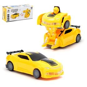 """Робот-трансформер """"Автобот"""", в упаковке"""
