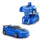 Робот «Автобот», трансформируется, световые и звуковые эффекты, работает от батареек, цвета МИКС - фото 105504738