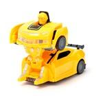 Робот «Автобот», трансформируется, световые и звуковые эффекты, работает от батареек, цвета МИКС - фото 105504739