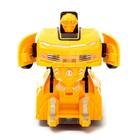 Робот «Автобот», трансформируется, световые и звуковые эффекты, работает от батареек, цвета МИКС - фото 105504740