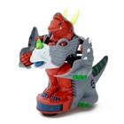 Робот-трансформер «Трицератопс», световые и звуковые эффекты, работает от батарее, цвета МИКС - фото 105504750