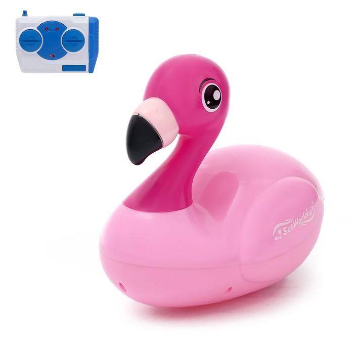Радиоуправляемая игрушка «Фламинго», для игры в ванной, бассейне