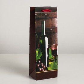 Laminated bag for a bottle, 12 x 9 x 36 cm