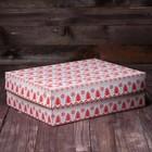 """Коробка картонная на 12 капкейков """"Вязанка"""", 32,5 х 25,5 х 10 см"""