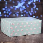 """Коробка картонная на 6 капкейков """"Мишки"""", 25 х 17 х 10 см"""