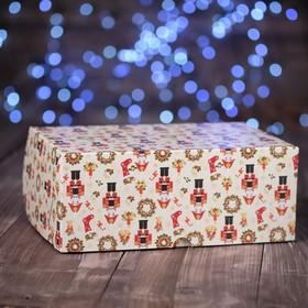 "A cardboard box ""the Nutcracker"", 25 x 17 x 10 cm"