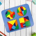 Набор из 4-х Головоломок «Круги и квадраты» - фото 105589078