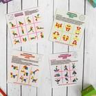 Набор из 4-х Головоломок «Круги и квадраты» - фото 105589080