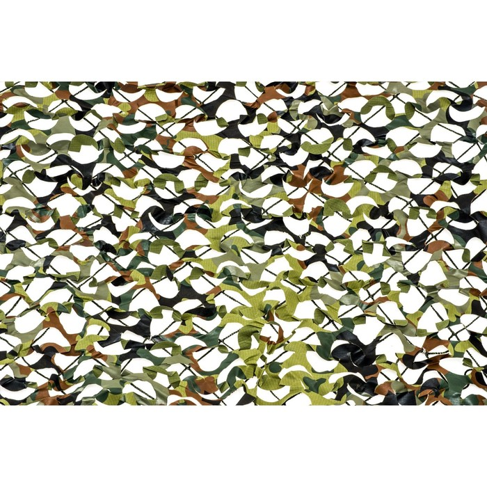 Маскировочная сеть «Пейзаж-профи. GERMANY 3D», 1,8 × 3 м, на сетевой основе, зелёная/коричневая/светло-зелёная