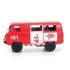 Машина инерционная «Микроавтобус МЧС», открываются двери - фото 105656911