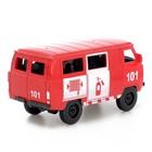 Машина инерционная «Микроавтобус МЧС», открываются двери - фото 105656912