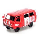 Машина инерционная «Микроавтобус МЧС», открываются двери - фото 105656913