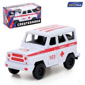 Машина инерционная «Джип Скорая помощь»