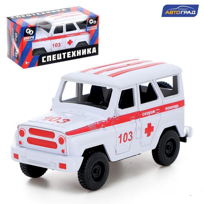 Машина инерционная «Джип Скорая помощь» - фото 105656950