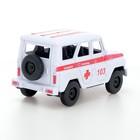Машина инерционная «Джип Скорая помощь» - фото 105656952