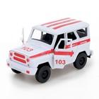 Машина инерционная «Джип Скорая помощь» - фото 105656953