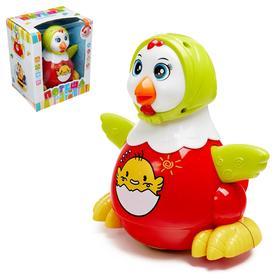 Развивающая игрушка «Курочка», световые и звуковые эффекты