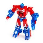 Робот - трансформер «Часы», трансформируется в робота и машинку, цвета МИКС - фото 105503578