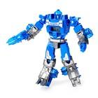 Робот - трансформер «Часы», трансформируется в робота и машинку, цвета МИКС - фото 105503570