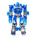 Робот - трансформер «Часы», трансформируется в робота и машинку, цвета МИКС - фото 105503571