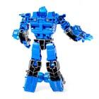 Робот - трансформер «Часы», трансформируется в робота и машинку, цвета МИКС - фото 105503572