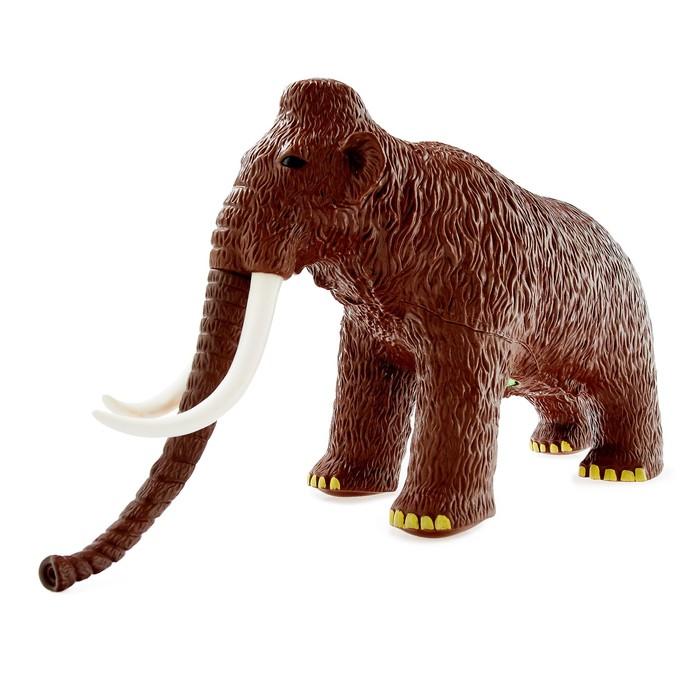 Фигурка животного «Мамонт», мягкая